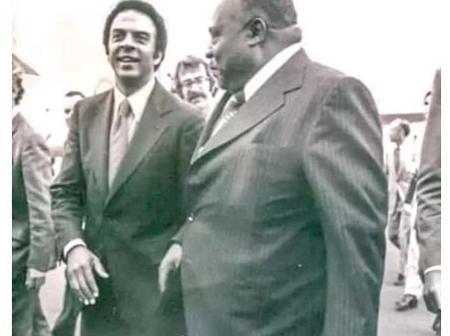 Meet President Uhuru Kenyatta's Elder Brother Who Was A Minister, The Late Peter Muigai.