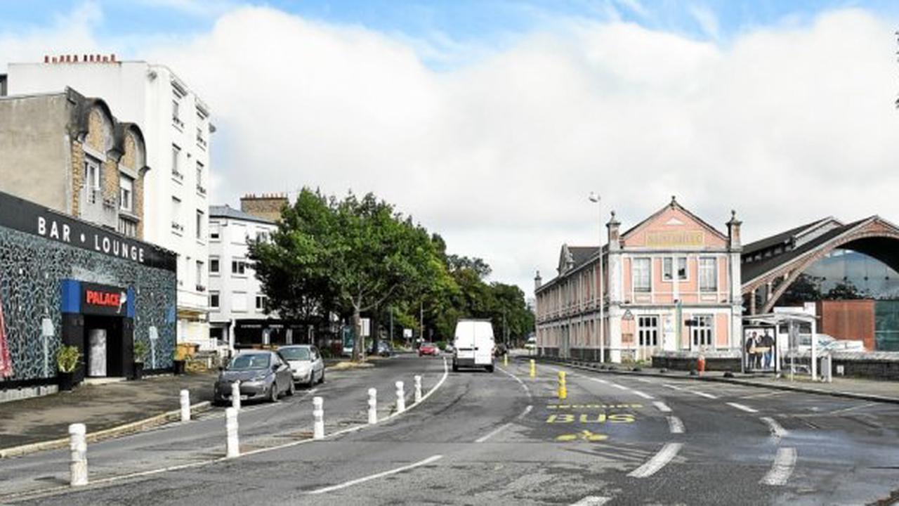 Saint-Brieuc - Boulevard Waldeck-Rousseau, à Saint-Brieuc, il va falloir apprendre à partager la voirie