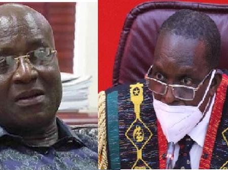 Honourable Kyei Mensah Bonsu has hit at Speaker of Parliament Alban Bagbin.