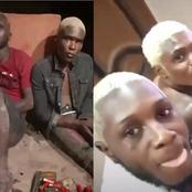 After flaunting themselves as big boys online, they were arrested for armed robbery (video)