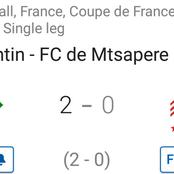 Coupe de France : Romorantin joins PSG in Round of 32 after 2-0 win against Mtsapere.(Opinion)
