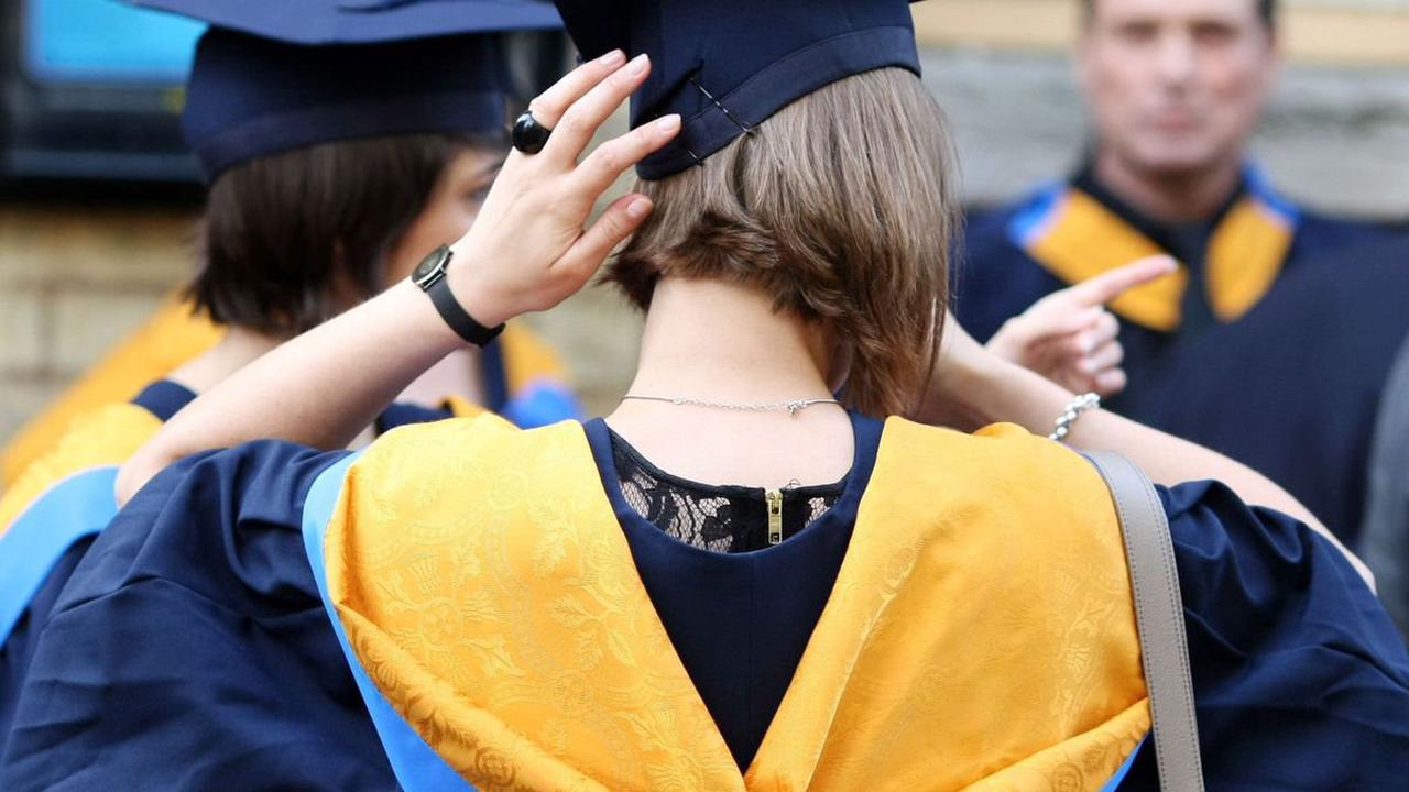 Graduation with a twist!