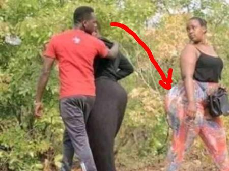 Camera caught a man for doing this at his wife's back