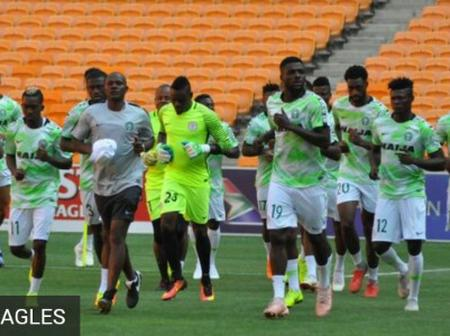 Very Important Thing Super Eagles Still Need To Do, Even After Their Have Qualified For Afcon