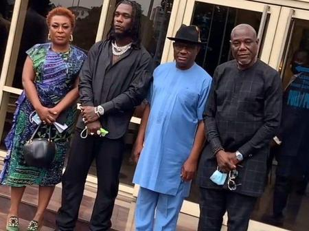 Mixed reactions from Nigerians as Burna boy receive 10m and a plot of land from Governor wike