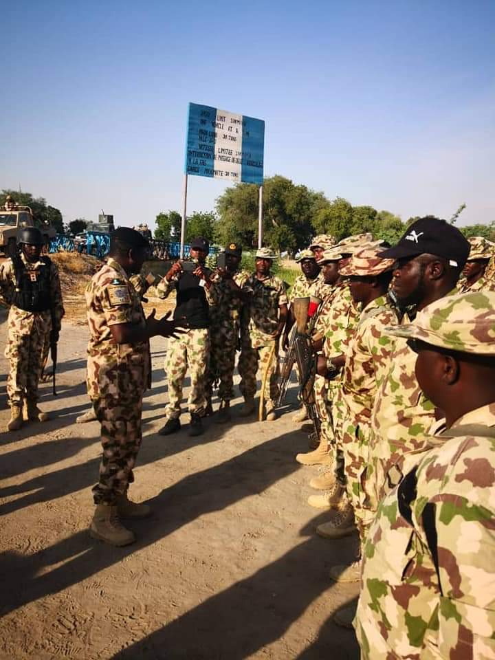 Soldier Promoted for his daring bravery against Boko Haram