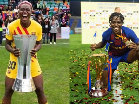Check out the amount Asisat Oshoala receives in naira as a football player