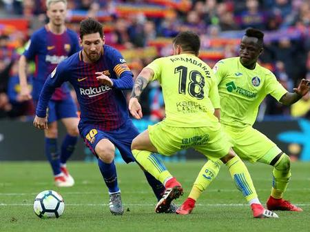 LaLiga: Getafe Versus Barcelona, Preview, Head 2 Head, Current Form And Prediction