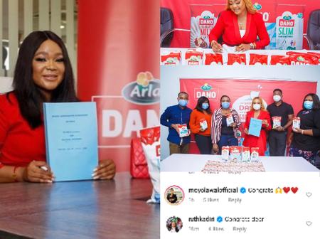 Uche Elendu, Belinda Efe and other actresses celebrate Nkoli Nwa Nsukka on her ambassadorial deal