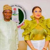 Tonto Dike Comes Under Fire After News Of Her Appointment As Ambassador On Pilgrim Commission