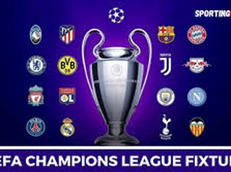 Here are the Champions League matches that are taking place on Wednesday.