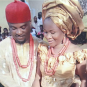 Actor Emmanuel Ehumadu shares beautiful photos with his wife to mark their marriage anniversary