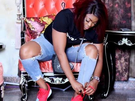 Fashion: Checkout Beautiful Photos Of Actress Funke Akindele On Crazy Jean