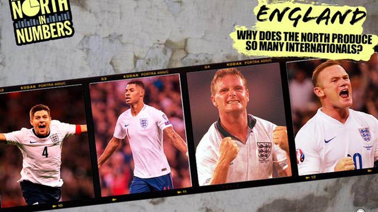 Why Manchester produces so many England players