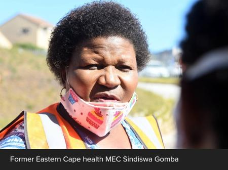 Sindiswa Gomba's fart saga re-emerges as Twitter makes fun of her for being axed as MEC of Health