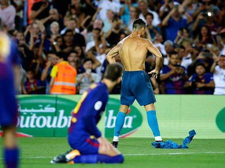 Despite Leaving The Spanish Laliga 3 Years Ago, See The Ronaldo Record That Is Untouched