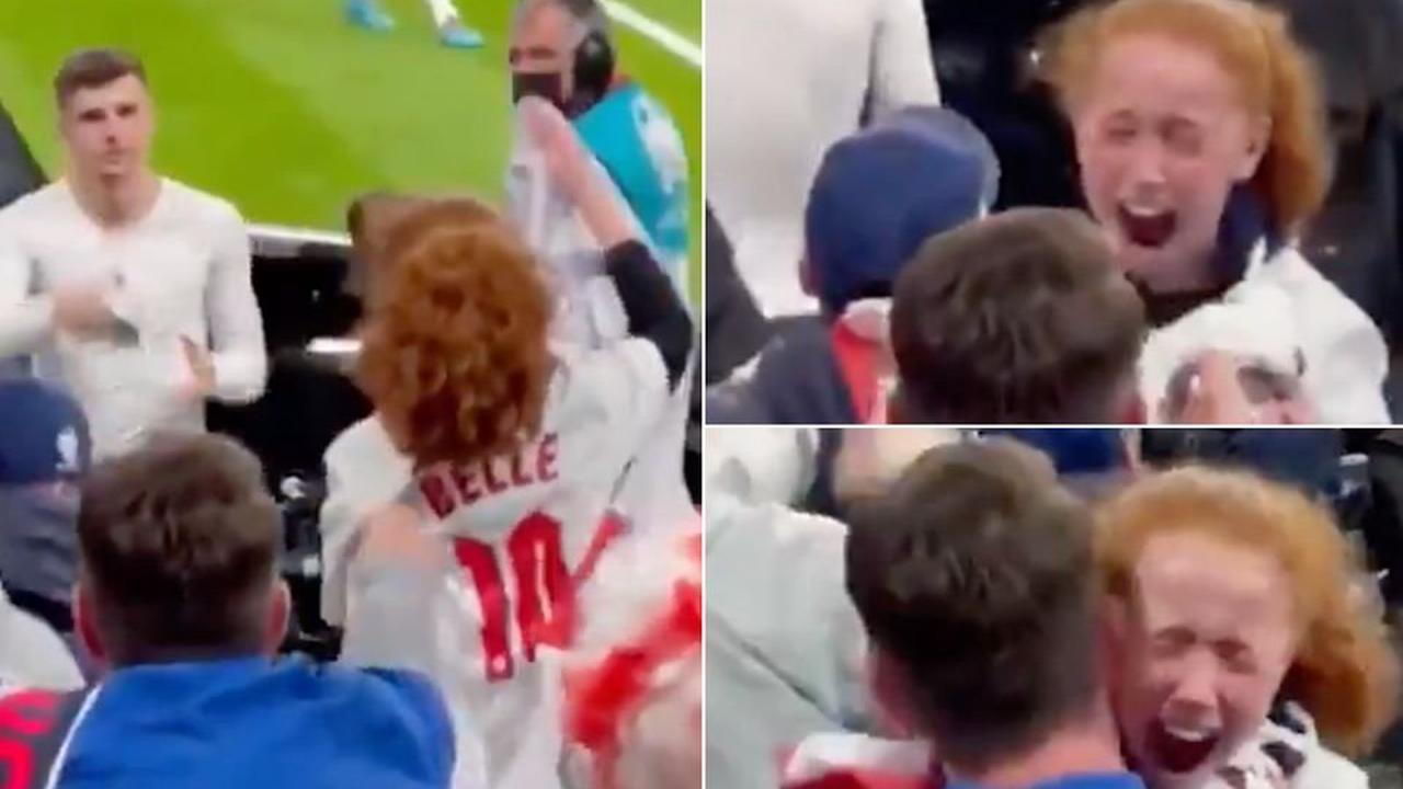 Euro 2020: England star Mason Mount gives his shirt to overjoyed young fan