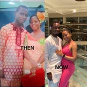 See The Before And After Pictures Of These Lovers That Got Reactions From Twitter Users