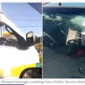 NTSA now Seeking the Rogue Driver who Crashed a Lady's Vehicle and Dashed off