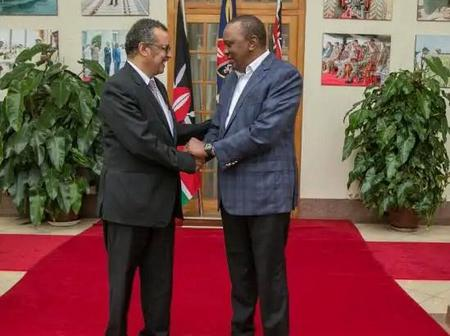 Big Win For President Uhuru and Kenya At Large After WHO Latest Announcement