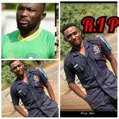21yr-Old Newly Recruited Police Officer Killed By Footballer Farouk Adams