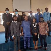 Unical DVC Admin and Dean of Students Affairs Inaugurates newly SUG Executives