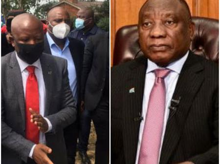 Political Leaders Send Caution To Ramaphosa And His Hunting Dogs After This Happened