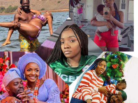 Simi Will Be 33 In A Few Days Time; Check Out These Beautiful Family Pictures Of The Singer