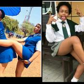 See Lovely Of Students Rocking Thier School Uniforms In Different Styles.
