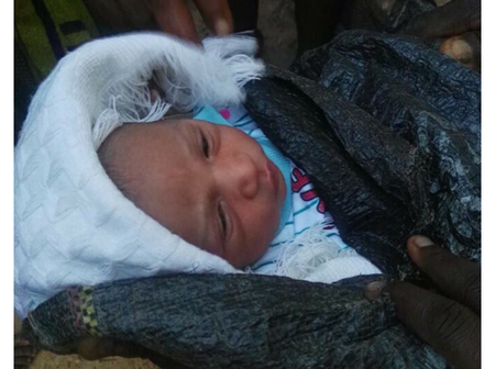 Abandoned Baby Found By The Roadside in Akure, Ondo State.