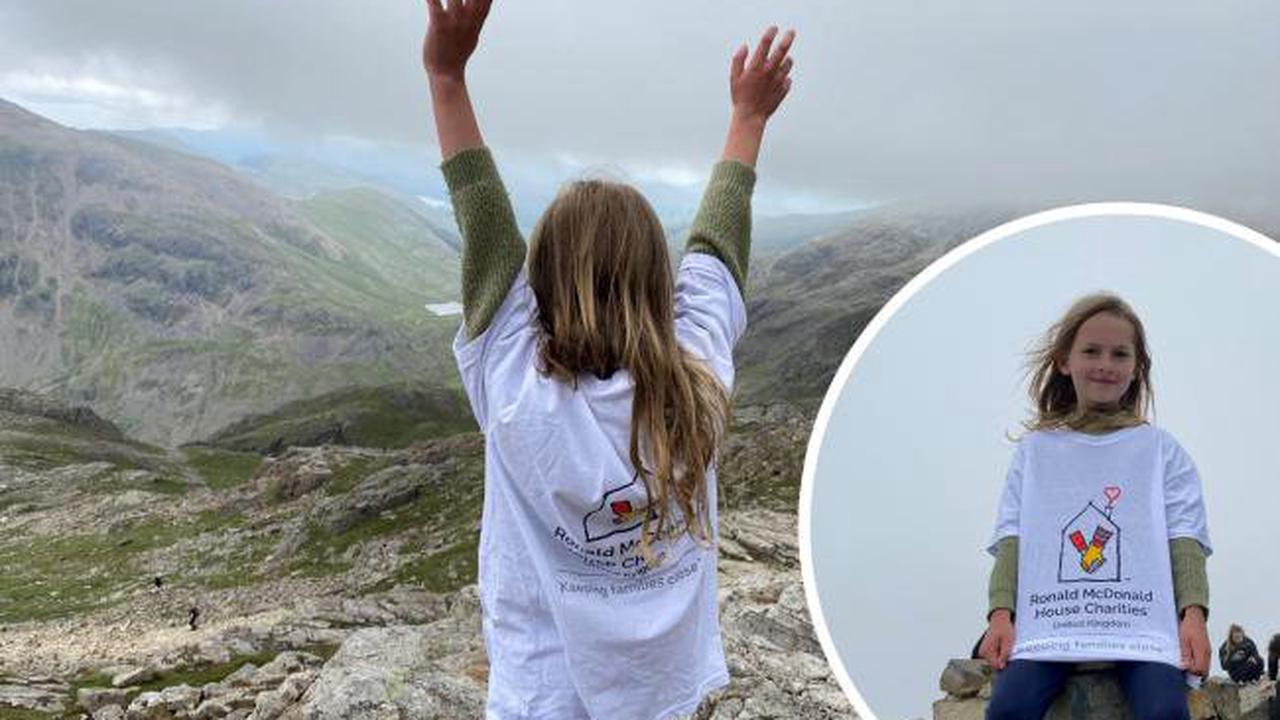 Shanklin's Sophie scaled Cumbria's Scafell Pike for charity