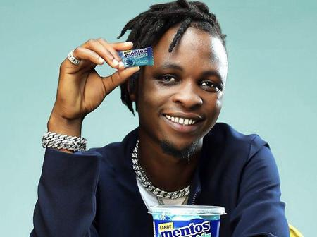 Laycon Bags Another Endorsement Deal! Laycon is now The Face of MentosNigeria