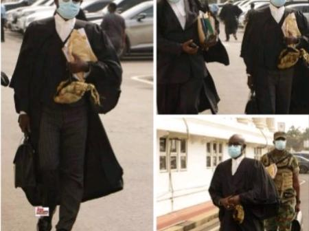 Ghanaians React As Lawyer Frank Davis going To Supreme Court Without Any Military Man's Support