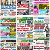 Titrologie  / Mercredi 14 avril 2021 : Après l'avoir diabolisé, la France réhabilite Gbagbo