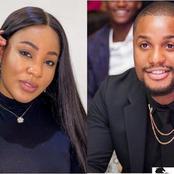 Video: Erica Bites Popular Nigerian Actor, Alexx Ekubo On Set, After He Carried Her