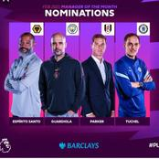 Thomas Tuchel, Pep and two others nominated for premier league manager of the month