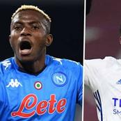 Super Eagles forwards Iheanacho and Victor Osimhen on target for Leicester and Napoli respectively.