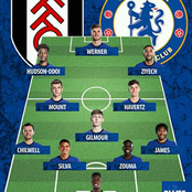 No Kante, Giroud & Abraham in Chelsea Average Starting 11 Squad Named by Lampard to Face Fulham