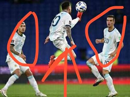See The Ball Control That Messi Did During Their Match Against Paraguay That Got Fans Surprised