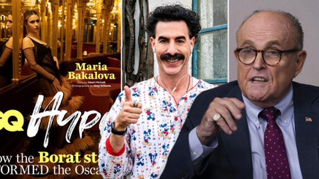 Borat 2's Maria Bakalova freaked out after Rudy Giuliani 'refused' Covid test