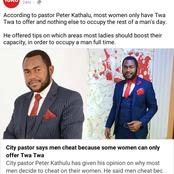 'City Pastor Leave us Alone' Netizens React After a Pastor Posted This Advice to Women