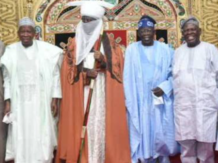 Reactions As Travels To Kano To Celebrate His Birthday With Emir of Kano