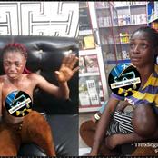 This Young Lady Was Caught Trying To Steal Weavon Worth 200,000 (Read How It Happened)