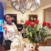 See how Adesua's body has greatly changed after the birth of her baby.