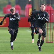 Man Utd will surely win Southampton!: See Photos as Man Utd Players Train Hard for Sunday EPL Clash.