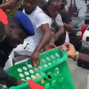 See What Police Man Did With Protesters That Got People Talking (Photos)