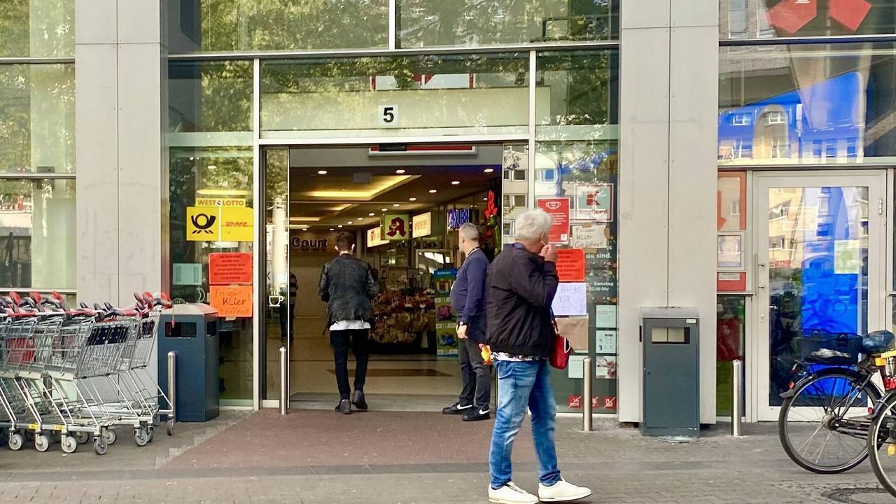 Kaufland in Düsseldorf hat wieder geöffnet