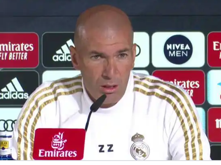 Press Conference: Zidane confirms Eden Hazard and Karim Benzema fit to start today (See Video).
