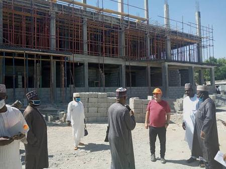 Photos Of The Ongoing Construction Of A Cancer Facility In Kano