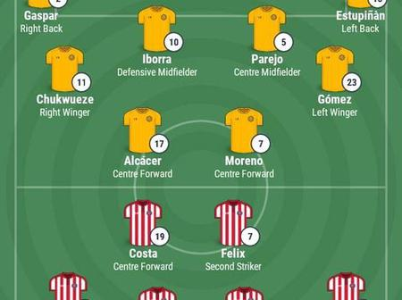 Atletico Madrid vs Villarreal: Possible Lineup for Both Teams